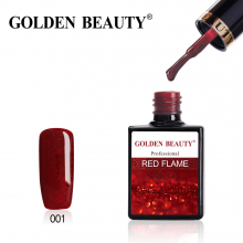 Golden Beauty Red Flame №1