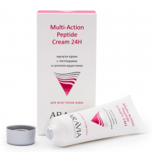 "ARAVIA Professional""Мульти-крем с пепт.и антиокс.компл.для лица.Multi-Action Peptide Cream 50мл."