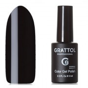 Grattol, Гель-лак Classic Collection №002, Black
