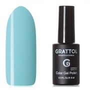 Grattol, Гель-лак Classic Collection №016, Pastel blue