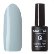 Grattol, Гель-лак Classic Collection №113, Powder blue